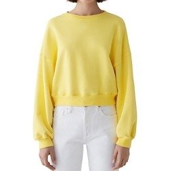 Agolde Crop Sweatshirt found on MODAPINS from Bloomingdales UK for USD $168.25