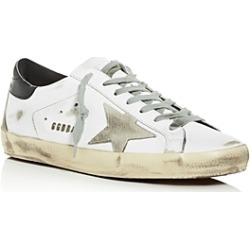 Golden Goose Deluxe Brand Unisex Superstar Distressed Leather Low-Top Sneakers found on Bargain Bro UK from Bloomingdales UK
