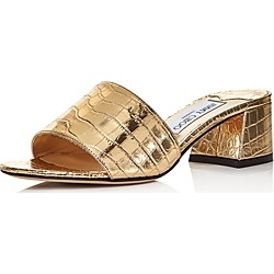 Jimmy Choo Women's Minea 45 Croc-Embossed Mule Sandals found on MODAPINS from Bloomingdale's Australia for USD $579.50