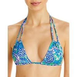 Frankies Bikinis Sand Printed Bikini Top found on MODAPINS from Bloomingdales UK for USD $102.61