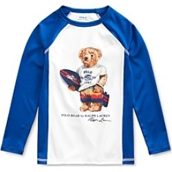 Polo Ralph Lauren Boys' Surfing Bear Rash Guard - Little Kid found on Bargain Bro India from bloomingdales.com for $26.95