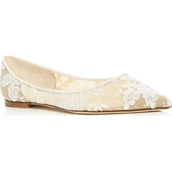 Jimmy Choo Women's Love Lace Pointed-Toe Flats found on Bargain Bro UK from Bloomingdales UK
