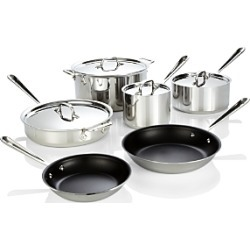 All Clad Stainless Steel Nonstick 10-Piece Cookware Set found on Bargain Bro India from Bloomingdales Canada for $830.96