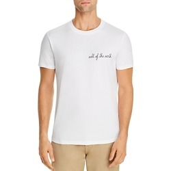 Maison Labiche Earth Heavy Embroidered Tee - 100% Exclusive