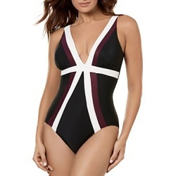 Miraclesuit Spectra Trilogy One Piece Swimsuit found on MODAPINS from Bloomingdales UK for USD $165.03