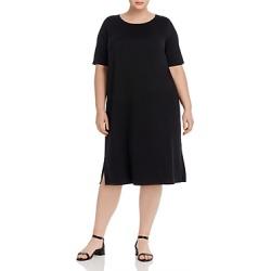 Eileen Fisher Plus Side-Slit Dress