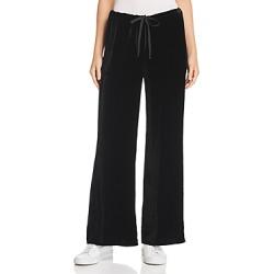Chaser Velvet Wide-Leg Drawstring Pants found on Bargain Bro India from bloomingdales.com for $105.00