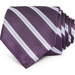 The Men's Store at Bloomingdale's Fulton Textured Stripe Silk Classic Tie - 100% Exclusive found on Bargain Bro Philippines from Bloomingdales Canada for $61.91