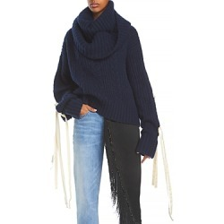 Hellessy Mellors Tie Sleeve Sweater found on MODAPINS from bloomingdales.com for USD $980.00