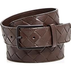Bottega Veneta Men's Intrecciato Leather Belt found on Bargain Bro India from Bloomingdales Canada for $631.97
