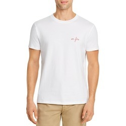 Maison Labiche Fire Heavy Embroidered Tee - 100% Exclusive