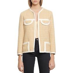 Sandro Mielle Tweed-Style Jacket