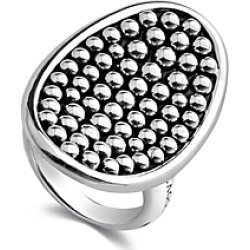 Lagos Sterling Silver Bold Caviar Vertical Ellipse Ring found on Bargain Bro India from Bloomingdales Canada for $414.31
