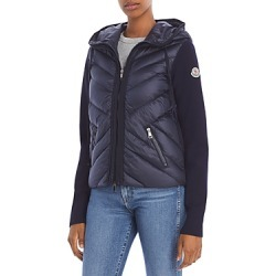 Moncler Cardigan Hooded Down Puffer Coat