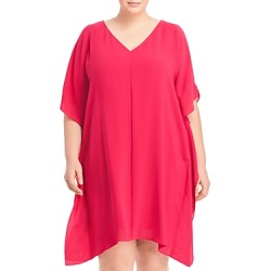 Adrianna Papell Plus Size Cold Shoulder Caftan Dress found on Bargain Bro India from Bloomingdales Canada for $100.03