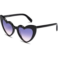 Saint Laurent Women's Loulou Heart Sunglasses, 54mm found on Bargain Bro Philippines from bloomingdales.com for $420.00