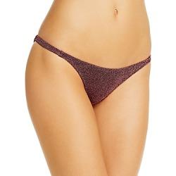 Caroline Constas Mykela Shimmer Bikini Bottom found on MODAPINS from Bloomingdales Canada for USD $58.56