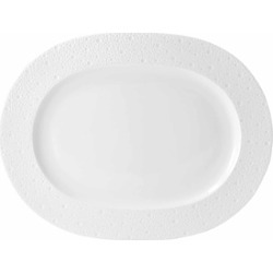Bernardaud Ecume White Oval Platter found on Bargain Bro Philippines from bloomingdales.com for $328.00