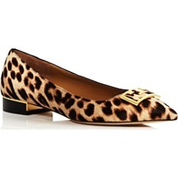 Tory Burch Women's Gigi Pointed Toe Leopard-Print Flats found on Bargain Bro UK from Bloomingdales UK