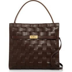 Tory Burch Lee Radziwill Leather Double Shoulder Bag found on Bargain Bro UK from Bloomingdales UK