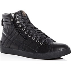 Diesel Men's D-String Plus Leather High-Top Sneakers found on Bargain Bro India from Bloomingdale's Australia for $169.35