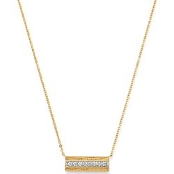 Bloomingdale's Diamond Bar Necklace in 14K Yellow Gold, 0.20 ct. t.w. - 100% Exclusive found on Bargain Bro UK from Bloomingdales UK