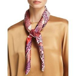 Salvatore Ferragamo Floral Print Silk Scarf found on Bargain Bro UK from Bloomingdales UK