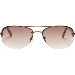 kate spade new york Women's Beryl Brow Bar Rimless Round Sunglasses, 59mm found on Bargain Bro India from bloomingdales.com for $160.00