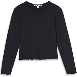 Amo Merrow Cotton Cropped Tee found on MODAPINS from bloomingdales.com for USD $84.00