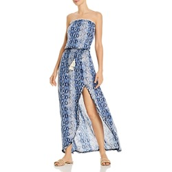 Surf Gypsy Snakeskin Print Maxi Dress Swim Cover-Up found on Bargain Bro Philippines from bloomingdales.com for $49.00