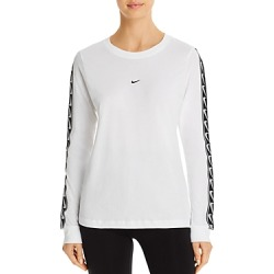 Nike Logo-Trim Tee found on Bargain Bro India from bloomingdales.com for $50.00