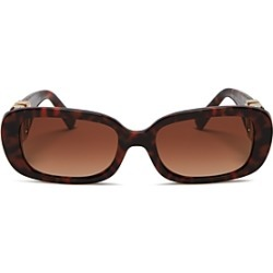 Valentino Women's Rectangular Sunglasses, 53mm found on Bargain Bro India from bloomingdales.com for $450.00