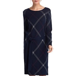 Barbour Allison Windowpane Sweater Dress found on MODAPINS from bloomingdales.com for USD $67.20