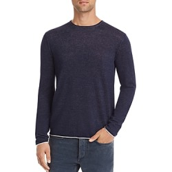 rag & bone Trent Contrast-Trimmed Sweater