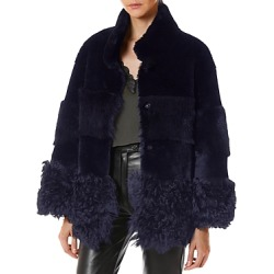 Nour Hammour Aimee Shearling Coat found on Bargain Bro from Bloomingdales Canada for USD $1,434.31