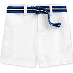 Ralph Lauren Boys' Cotton Stretch Chino Shorts & Stripe D-Ring Belt Set - Baby found on Bargain Bro India from bloomingdales.com for $19.35