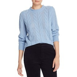 Joie Tenzin Chevron-Knit Wool-Blend Sweater found on Bargain Bro Philippines from bloomingdales.com for $166.80