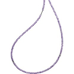 Lagos Sterling Silver Caviar Icon Amethyst Five Station Strand Necklace, 34