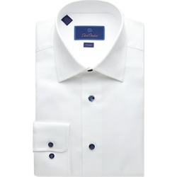 David Donahue Textured-Weave Trim Fit Dress Shirt found on Bargain Bro Philippines from Bloomingdales Canada for $152.72