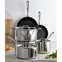 All Clad Stainless Steel Nonstick 10-Piece Cookware Set found on Bargain Bro from Bloomingdales Canada for USD $633.70