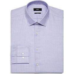 Boss Grid-Check Slim Fit Dress Shirt found on Bargain Bro UK from Bloomingdales UK
