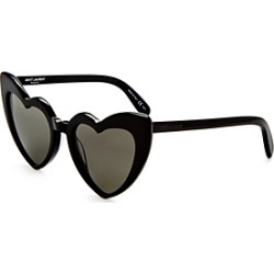 Saint Laurent Women's Lou Lou Heart Sunglasses, 53mm found on Bargain Bro Philippines from bloomingdales.com for $420.00