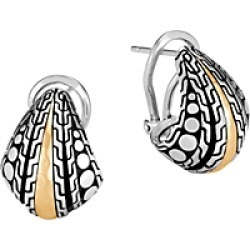 John Hardy Hammered 18K Gold & Sterling Silver Dotted Buddha Belly Earrings found on Bargain Bro India from Bloomingdale's Australia for $629.77