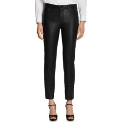 J Brand Adele Leather Straight Jeans in Black found on MODAPINS from Bloomingdale's Australia for USD $742.60