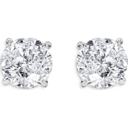 Unique Designs Diamond Solitaire Stud Earrings in 14K White Gold, 2.00 ct. t.w. (65% off) - Comparable value $10,090 found on Bargain Bro Philippines from Bloomingdale's Australia for $3732.13