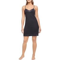 Calvin Klein Satin Trim Chemise found on Bargain Bro India from bloomingdales.com for $68.00