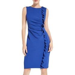 Max Mara Sierra Ruffled Sheath Dress found on Bargain Bro UK from Bloomingdales UK