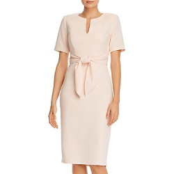 Adrianna Papell Tie-Front Sheath Dress found on MODAPINS from Bloomingdales UK for USD $137.86