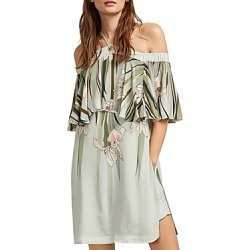 Ted Baker Piipper Willow Cold-Shoulder Overlay Romper found on Bargain Bro Philippines from bloomingdales.com for $111.00