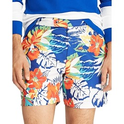 Polo Ralph Lauren Monaco Floral-Print Swim Trunks
